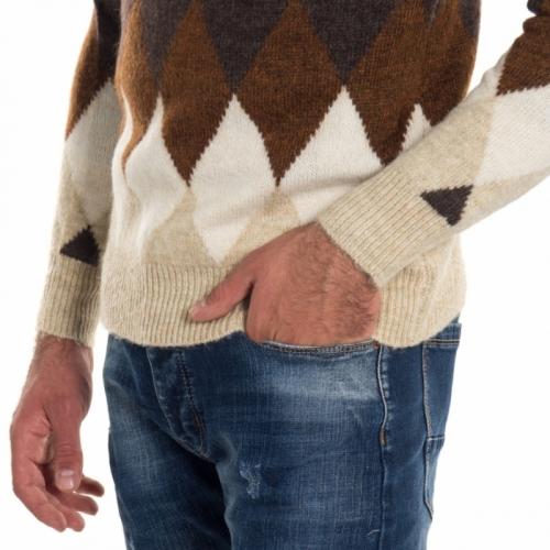 clothing Knitwears men Maglia LPL319 LANDEK PARK Cafedelmar Shop