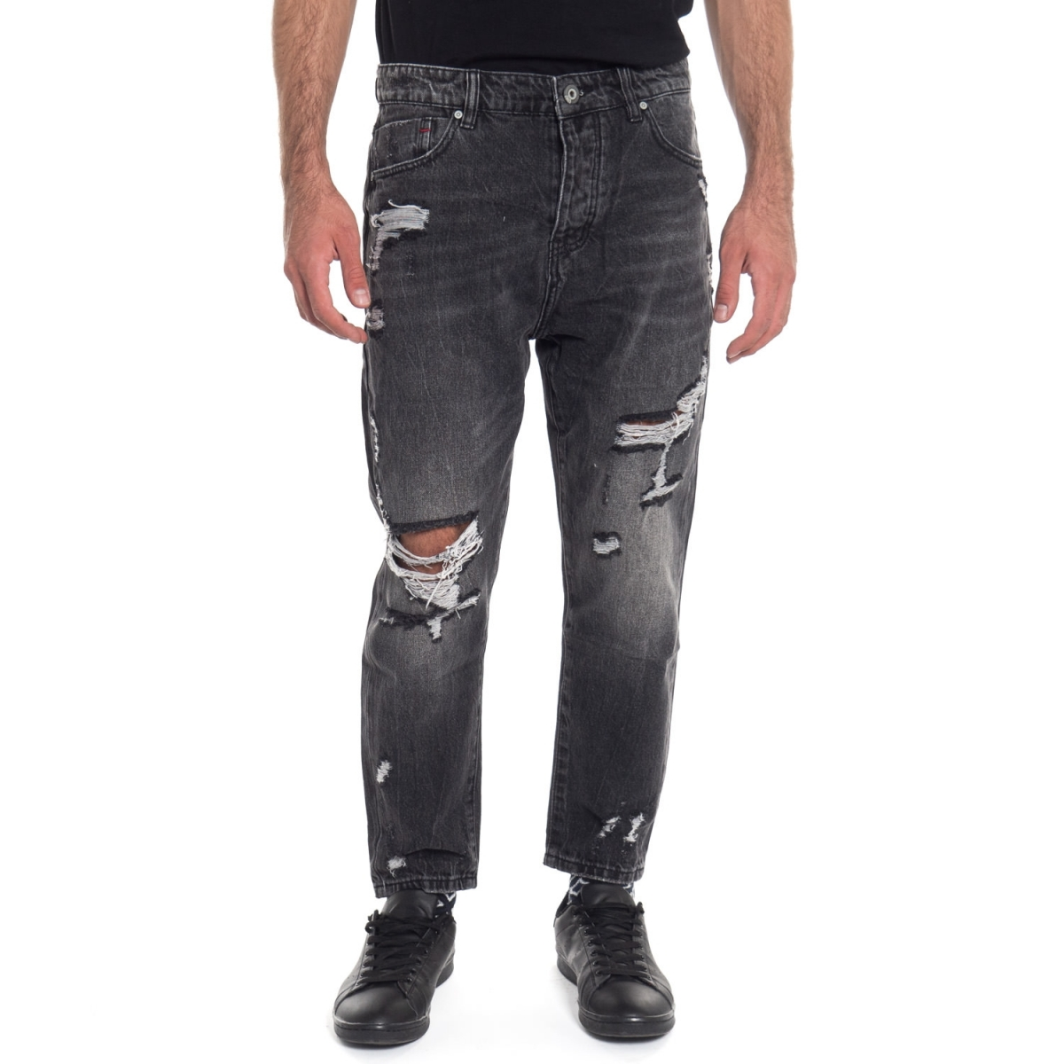 vêtements Jeans homme LPY1802 BLU Cafedelmar Shop