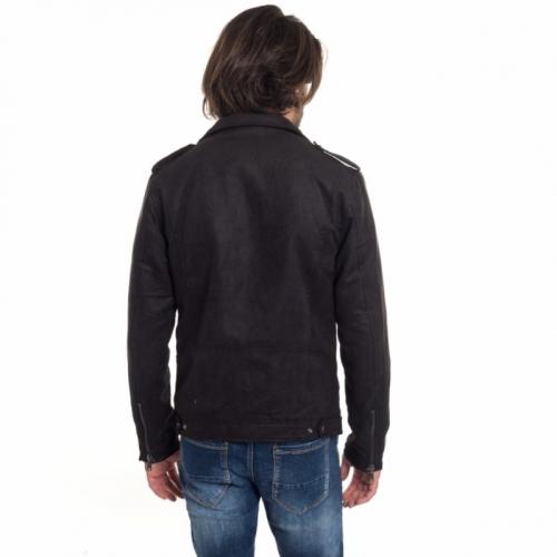 abbigliamento Giubbini uomo Giubbotto in pelle GL9565 GIANNI LUPO Cafedelmar Shop